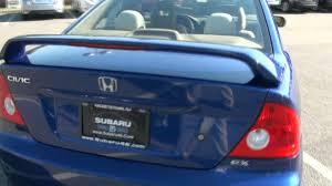 2004 Honda Civic EX Coupe - YouTube