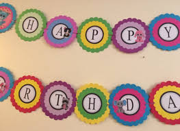custom happy birthday banner beanie boo birthday banner beanie boo party decorations