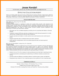 collection agent resume travel agent resume no experience elegant collection agent resume