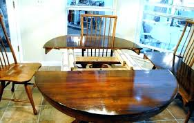 round table extenders antique dining room table with pull out leaves dining room table slides in round table