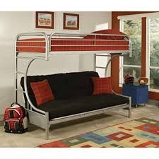 couch bunk bed. Unique Couch Eclipse Twin Over Full Futon Bunk Bed Silver Inside Couch Bed