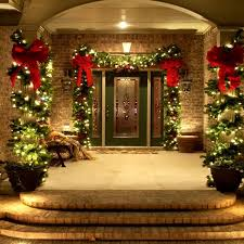 Patio Christmas Decorations Interior Design