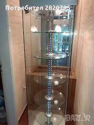 Шкафове за коридор шкафове за баня с led огледало emily огледален шкаф sofia огледален шкаф lily остъклена led витрина за хол. Stklena Vitrina V Sekcii I Vitrini V Gr Burgas Id30185391 Bazar Bg
