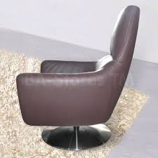 Living Room Swivel Chairs Stylish Decoration Leather Swivel Chairs For Living Room