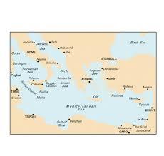 Imray Charts Mediterranean Imray Mediterranean Chart M20 Eastern Mediterranean