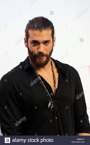 Madrid, Spain. 26th Nov, 2019. Can Yaman during his visit to ...
