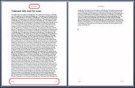 HOW TO dynamically generate a Word document with custom header  amp  footer Fast Loading Thesis Blogger Template