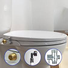 18 inch toilet seat. hibbent non electric toilet bidet seat - american round seats no electricity bathroom washlet 18 inch