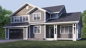 Design Exterior Case Moderne : Exterior grey house color schemes d renderings