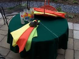 patio tablecloth with umbrella hole zipper ideas