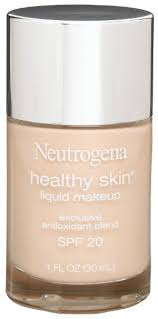 get ations neutrogena healthy skin liquid makeup clic ivory 10 1 ounce