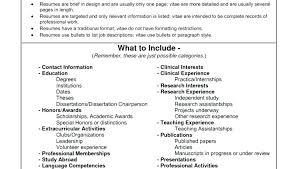 Example Cv Science Graduate Format Of Cv Resume Exceptional Contoh ...
