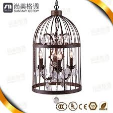 modern whole bird cage pendant light small crystal chandelier