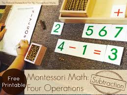 Image result for montessori math