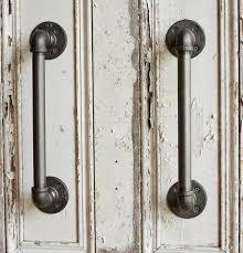 door handles. Industrial Steel Pipe Door Handles