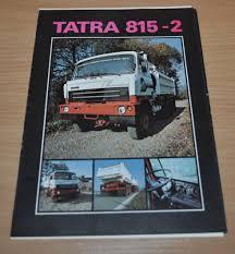Tatra 815-2 Press Folder Engine Truck Brochure Prospekt Catalog ...