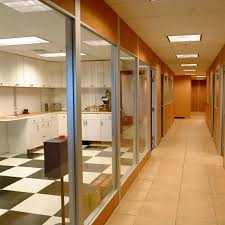 wooden office partitions. Full Glass Partitions Wooden Office N