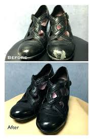 scuffed leather shoes fix before and after of a pair black boots tan scuffed leather shoes