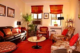 terrific small living room. Accessories Terrific Chocolate And Burnt Orange Living Room Small