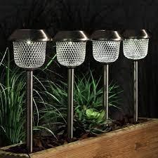 365 mesh solar led stake lights