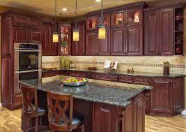 Cherry Cabinet Kitchen Designs Architecture Home Design Projects
