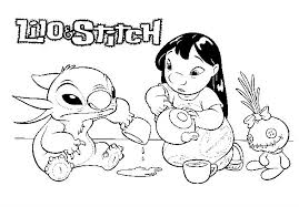 Small Picture Disney lilo and stitch coloring pages ColoringStar