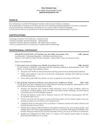 Federal Nurse Sample Resume Stunning Modern Resume Format Example Experience Certificate Sample For