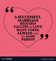 Inspirational Love Marriage Quote A Successful