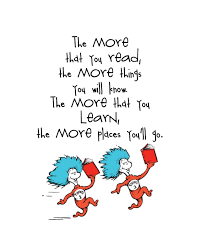 a little inspiration from dr seuss a little inspiration from dr seuss let children know what you are reading