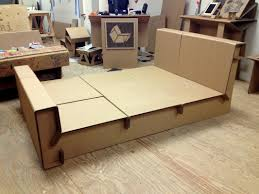 Corrugated Cardboard Furniture Corrugated Cardboard Bed Is My New Favorite Idea Lawl