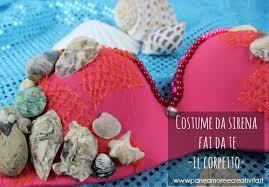 Costume Da Bagno Sirenetta : Costumi e idee di carnevale fai da te pane amore