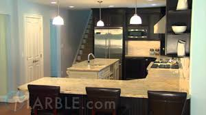 Colonial Gold Granite Kitchen Colonial Gold Granite Kitchen Countertops I By Marblecom Youtube
