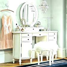 White Vanity Desk With Drawers White Vanity Set White Bedroom ...