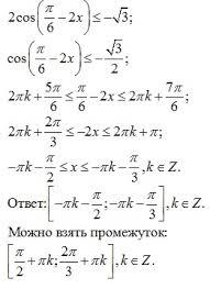 Пример Решить неравенство Тригонометрия Дипломные работы на заказ Пример Решить неравенство Тригонометрия