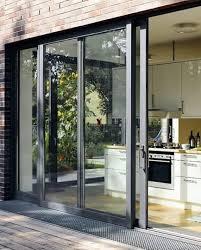 an aluminium sliding glass door