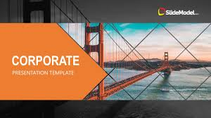 Company Presentation Template Ppt Business Corporate Presentation Template