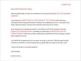 free download retirement resignation letter sample retirement letter to company