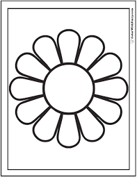 Small Picture Daisy Coloring Pages 15 Customizable PDFs