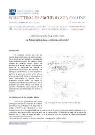 PDF) La Arqueología de la casa romana en Cataluña | Ada Cortés Vicente -  Academia.edu