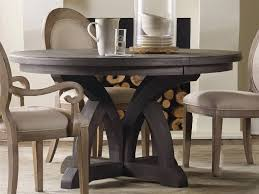 furniture corsica dark wood 54 wide round dining table 5280 75203