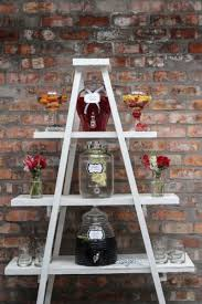 Display Stand Hire 10000 Tier 100100m White ladder Shelf display stand for Hire Lansdowne 2