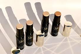 the clé de peau beauté radiant foundation stick swatches thoughts