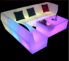 2021 new led rechargeable sofa coffee