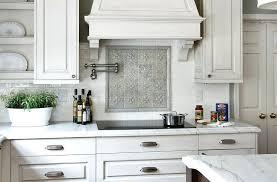backsplash with white cabinets geometric tile kitchen gray subway tile backsplash white cabinets