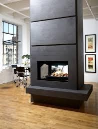 marquis gemini multi sided fireplace modern living room