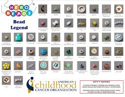 Hero Beads Children With Cancer Kids Charity Cure