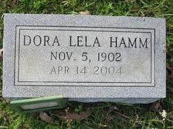 Dora Lela Hamm (1902-2004) - Find A Grave Memorial