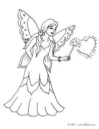 Faerie Coloring Pages At Getdrawingscom Free For Personal Use