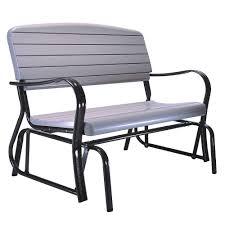 garden benches home depot. Wonderful Home Lifetime Outdoor Patio Glider Bench Intended Garden Benches Home Depot