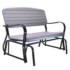 lifetime outdoor patio glider bench